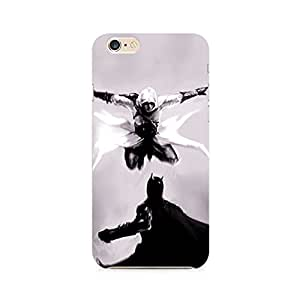 Mobicture Creed vs Batman Premium Printed Case For Apple iPhone 6/6s