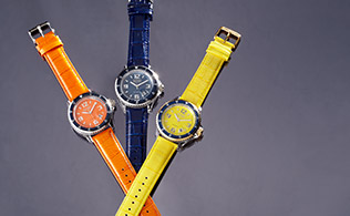 Go Bright: Colorful Watches