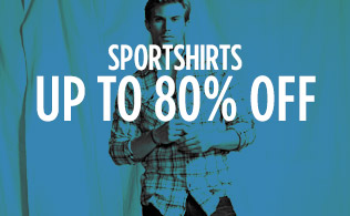 Sportshirts: Up to 80% Off