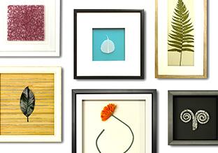 Framed Finds: Natural Elements!