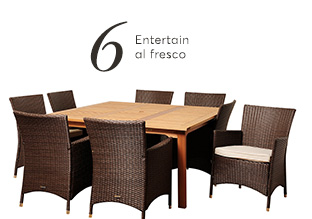 # 6 : Outdoor Set Pranzo!