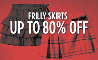 Frilly Skirts: Up to 80% Off