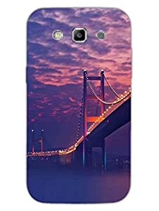 Starry Night Bridge - Photographic - Hard Back Case Cover for Samsung S3 - Superior Matte Finish - HD Printed Cases and Covers