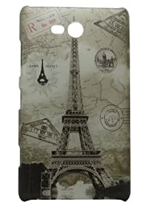 Snooky Night Glow Tower Hard Back Case Cover For Nokia Lumia 820 Td-6613