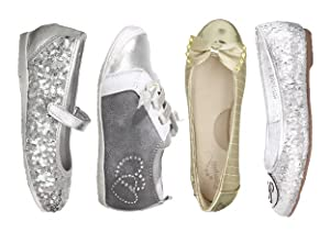 Silver & Bold: Metallic Kids' Shoes