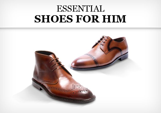 Essential shoes for him