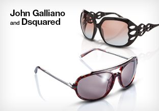 John Galliano and Dsquared