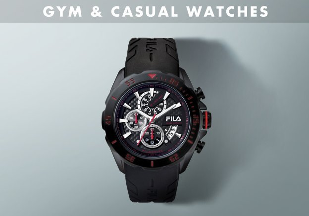 Gym & Casual Edition Watches