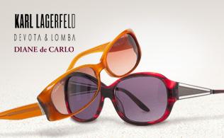 Karl Lagerfeld, Devota & Lomba y Diane de Carlo