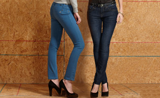 The Denim Shop + Who What Wear: The Skinny Jean!