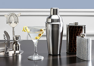 Stock the Bar: Glasses, Flasks & More