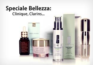 Speciale Bellezza: Clinique, Clarins…