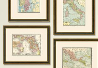 Archival: Vintage Maps!
