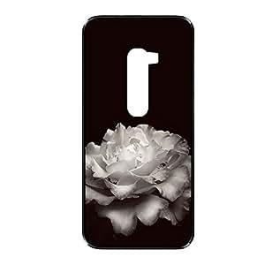 Vibhar printed case back cover for LG G2 WhiteBig