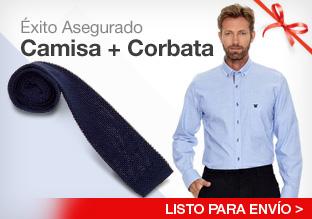 Éxito asegurado: Camisa + Corbata