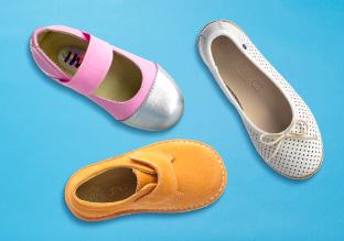 FINO AL 80 % DI SCONTO : scarpe per bambini