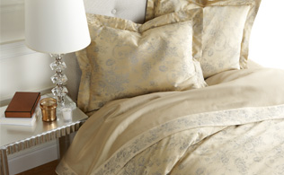 Luxury Linens by Home Treasures!