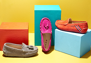 Colorful Kicks: Loafers & Moccasins