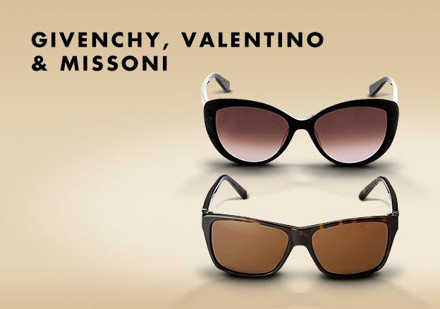 Givenchy, Valentino & Missoni!