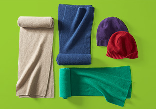 Cold-Weather Cashmere Accessories!