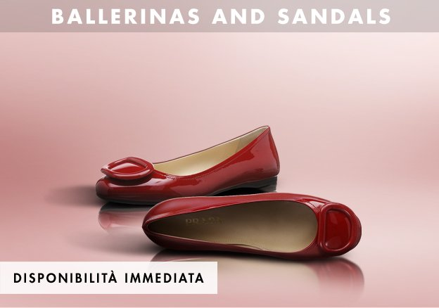 Ballerinas, Sandals and more