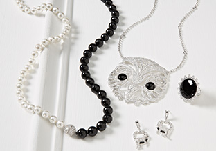 Black & White: Jewelry Finds