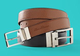 Double Duty: Reversible Belts!