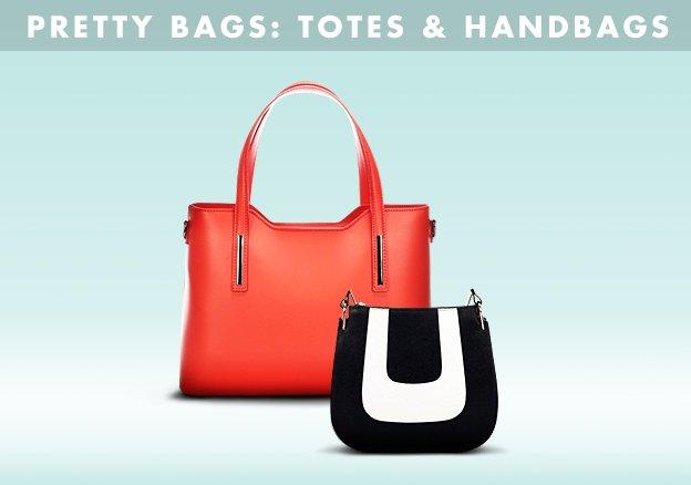 Pretty Bags: Totes & Handbags!