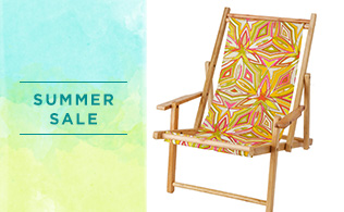 Up to 80% Off: Beach Décor & Accessories