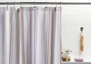 Bath Update: Shower Curtains & Rugs!