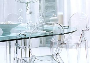 Transparent & Reflective: Furniture & Décor!