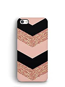 Cover Affair Patterns Printed Back Cover Case for Apple iPhone 5S