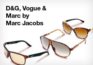 D&G, Vogue & Marc by Marc Jacobs