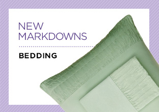 New Markdowns: Bedding!