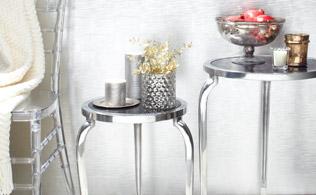Marble & Mirror Furnishings from Zanzi!