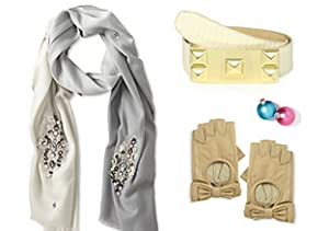 Studs, Sequins & Bows: Accessories