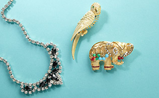ARCHIVE: Vintage Jewelry from Lulu Frost!