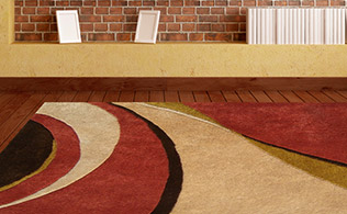Up to 80% Off Rugs: Smooth Contemporary!
