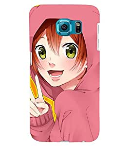 Printvisa Pink Girl Victorious Back Case Cover for Samsung Galaxy S6 Edge+ G928::Samsung Galaxy S6 Edge Plus G928F