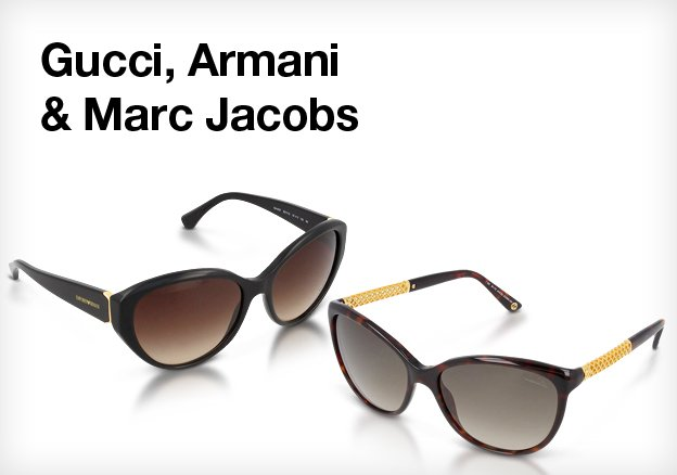 Gucci, Armani & Marc Jacobs