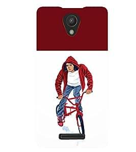 Fuson 3D Printed Boy Designer back case cover for Xiaomi Redmi 3S - D4314