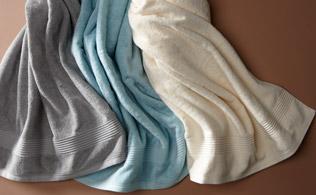 Rhapsody Royal Bath Towels