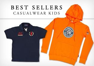 Best sellers: Casualwear!