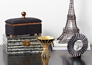 Inspired by Paris: Glam Décor Accents!