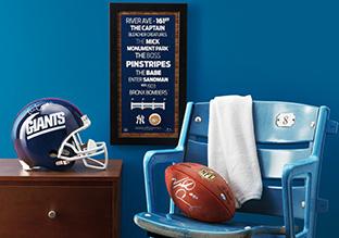 Fall Sports Season: Football Memorabilia & More!
