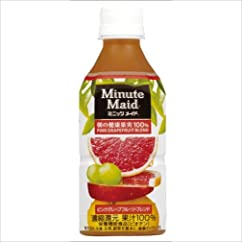 コカ・コーラ ミニッツメイド ピンクグレープフルーツブレンド