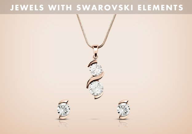 Jewels with Swarovski Elements!