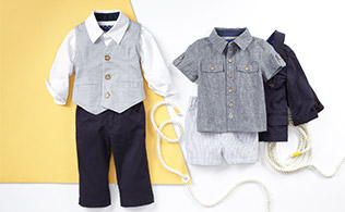 Beetle & Thread:  Spring Styles for Baby Boys