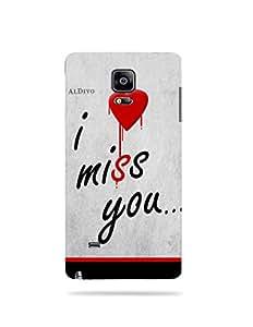 alDivo Premium Quality Printed Mobile Back Cover For Samsung Galaxy Note 4 / Samsung Galaxy Note 4 Back Case Cover (MKD316)