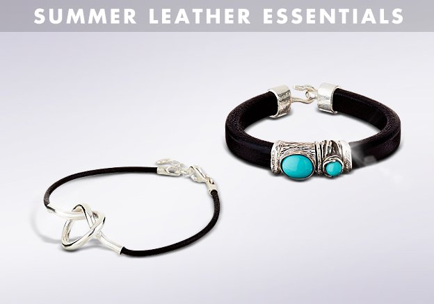 Summer leather essentials!
